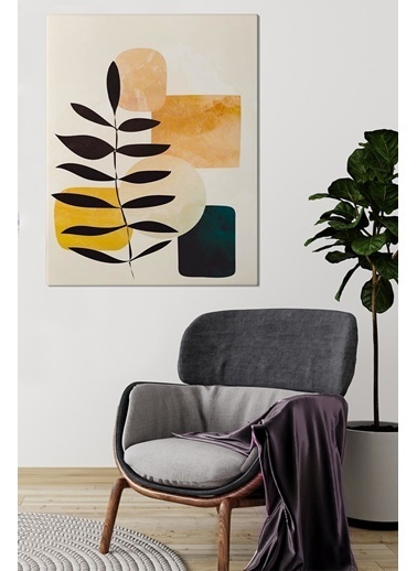 MarkaEv Canvas Modern Tablo 0186 Renkli